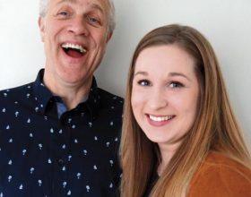 Vader en dochter: Herman en Jasmijn Boon