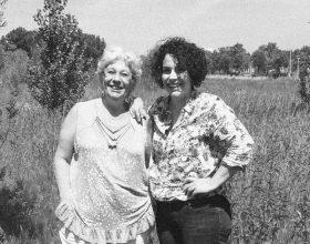 Moeder en dochter: Clara en Lea Sies