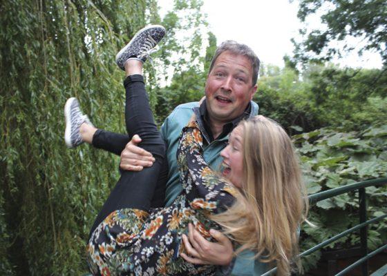 Matthijs Vlaardingerbroek en dochter Katie